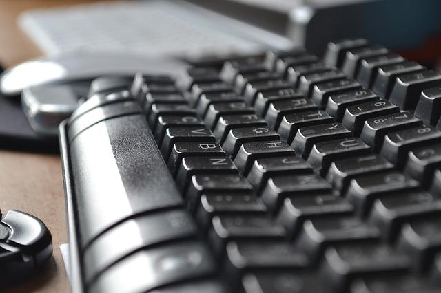 keyboard 342086 640 - Aufwendungen für Bürobedarf